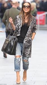 Myleene Klass steps out in leopard | Daily Mail Online