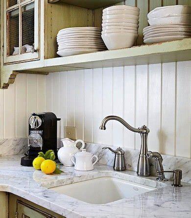 kitchen paneling backsplash white wood paneling backsplash ideas for a unique