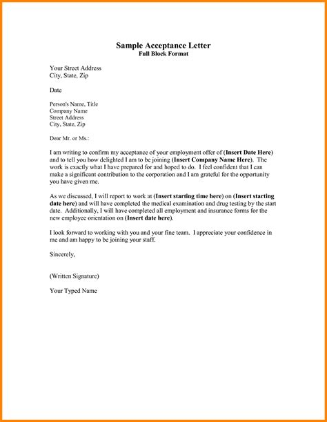 full block business letter penn working papers