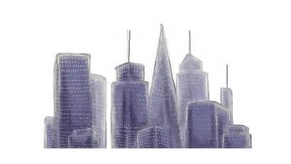 Skyline Clipart Backdrop Transparent Background Aerial Angeles