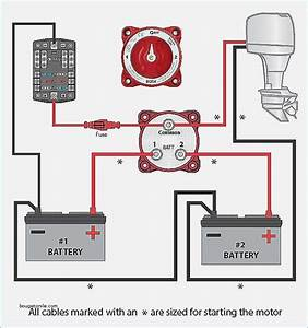 Marine Battery Isolator Switch Wiring Diagram