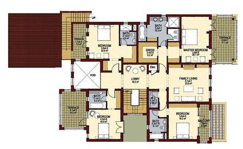 villa floor plans valencia style 5 bedroom villa lime tree valley