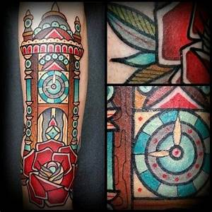 The 25+ best Grandfather clock tattoo ideas on Pinterest ...
