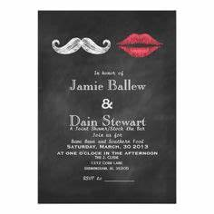 bachelor bachelorette party invitation customizable With joint wedding shower