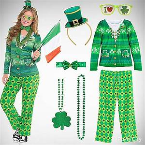St. Patrick's Day Comfy, Cute & Sweet Look - Party City