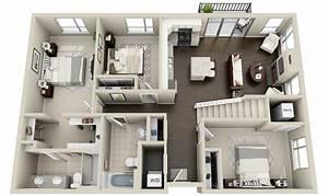 2, townhomes, and, lofts, , u00ab, 3dplans, com