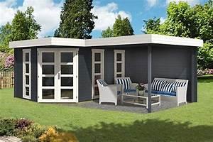 Modernes Gartenhaus Flachdach : praktische tipps f r ein gartenhaus mit anbau ~ Sanjose-hotels-ca.com Haus und Dekorationen