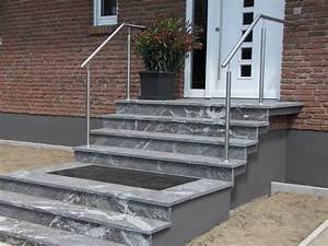 Treppe 3 Stufen Aussen : handlauf und treppengel nder f r au entreppen und eingangstreppen au en ~ Frokenaadalensverden.com Haus und Dekorationen
