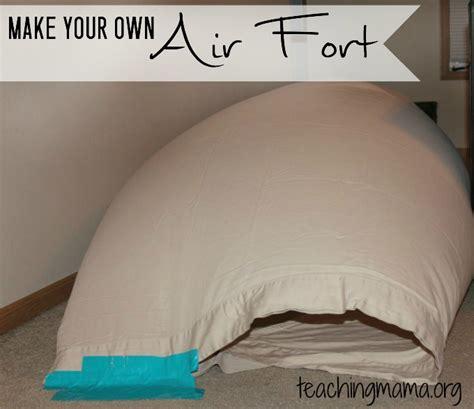 under blanket bed fan diy air fort