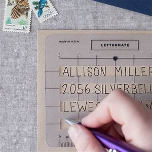the lettermate envelope addressing template envelopes on With how to address your own wedding invitations