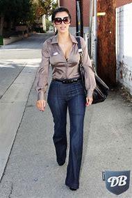 Kim Kardashian High-Waist Jeans