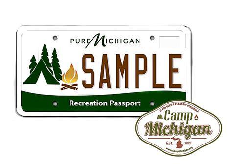 This Michigan Recreation Passport License Plate Has To Happen
