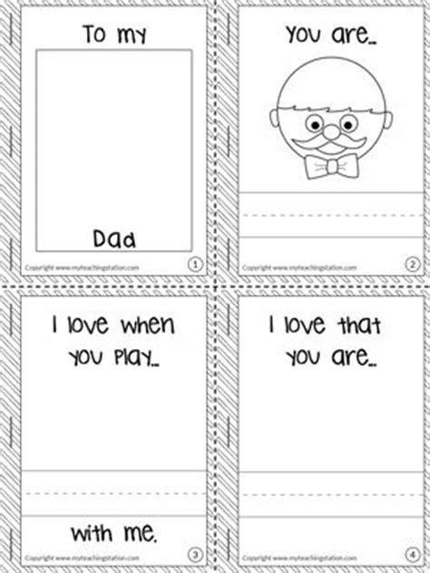 love   dad mini book holiday printable