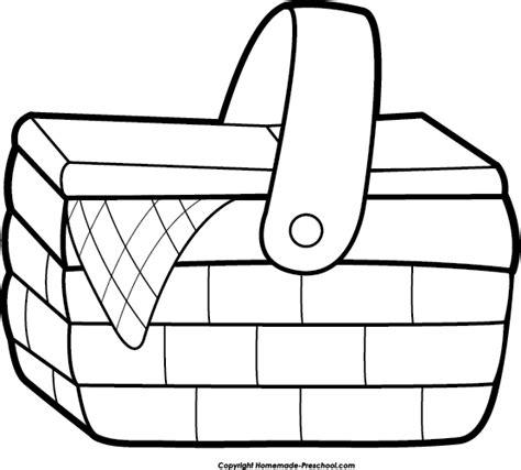 picnic basket clip art clipartioncom