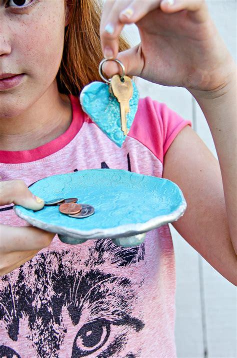 fathers day handmade dish  diy keychain   takes