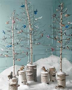Christmas Ornaments Glittered Birds Nests And Mushrooms