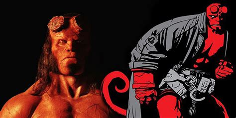 Hellboy Movie 'really Leaned On' The Comics  Screen Rant