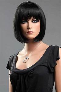 Hairstyles for jet black hair - Hairstyle for women & man