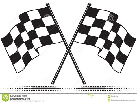 checkered flags reached  goal royalty  stock
