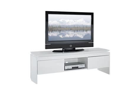 soldes meuble tv miliboo meuble tv design laqu 233 blanc telio ventes pas cher