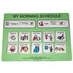 Pecs Morning Routine Schedule