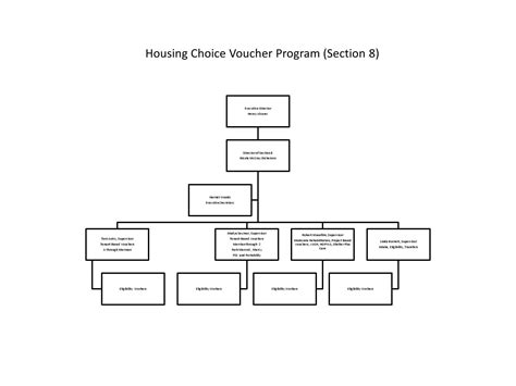 section 8 housing choice voucher org chart section 8 by sfha issuu