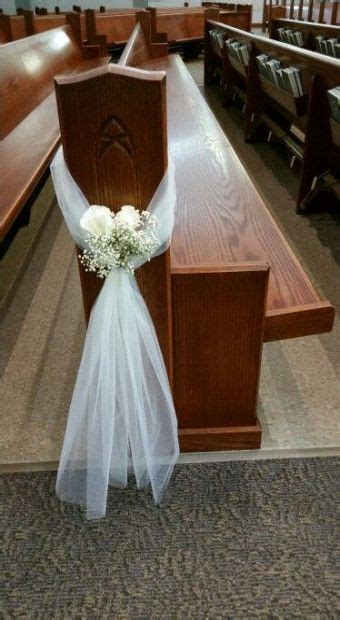 New Wedding Simple Decorations Church Pews 49 Ideas