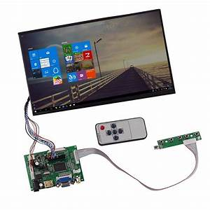 10 1 Hd Lcd Display Screen High Resolution Monitor Remote