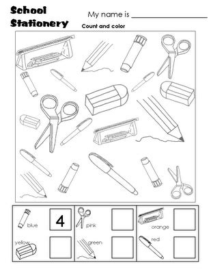 we learn english classroom objects worksheets