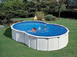 Piscine En Acier : kit piscine acier en huit varadero blanche x ~ Melissatoandfro.com Idées de Décoration