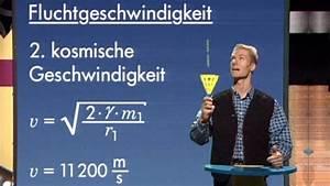 Fluchtgeschwindigkeit Berechnen : physik mechanik gravitationsfeld und potenzial mechanik physik telekolleg ~ Themetempest.com Abrechnung