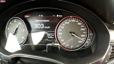 abt  sportback  ps  kmh top speed test drive