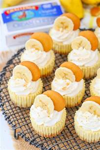 Banana Pudding Mini Cheesecakes