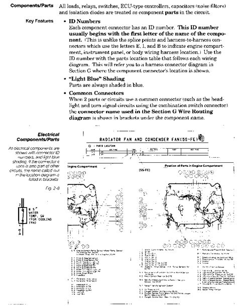 toyota camry electrical wiring diagram toyota engine systems