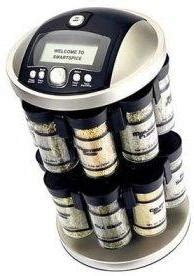 Electronic Spice Rack gift ideas for the chef 187 coolest gadgets