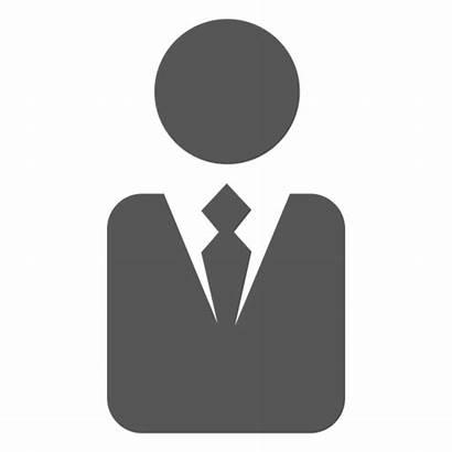 Executive Symbol Silhouette Management Transparent Svg Experience