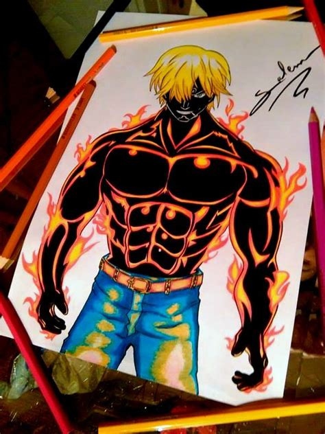 Anime Haki One Sanji Haki D By Salemboussif On Deviantart