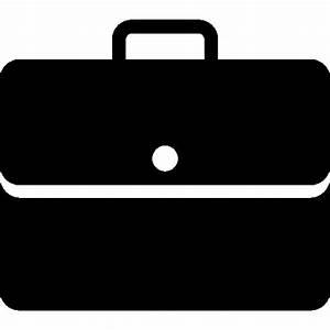 Very Basic Briefcase Filled Icon | iOS 7 Iconset | Icons8