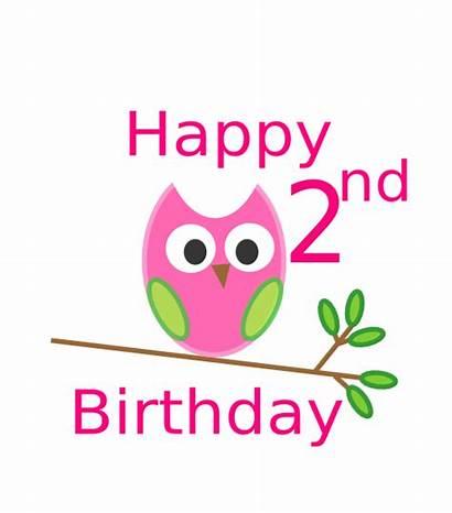 Birthday 2nd Owl 1st Clip Clipart Clker