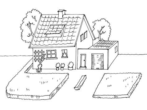 dessin maison a imprimer dessin maison basque