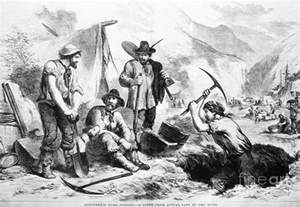 Forty Niners California Gold Rush Drawings