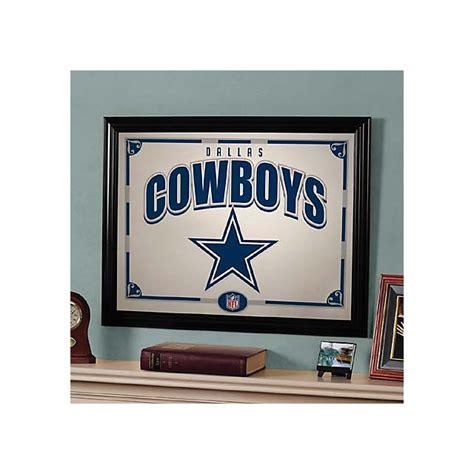 dallas cowboys home decor dallas cowboys black framed mirror home decor home