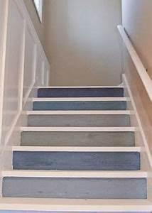 20 escaliers modernes d39inspiration nautique couleur With good idee couleur peinture salon 16 maison particuliare decoration moderne couloir