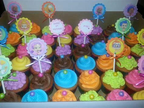 bubble guppies cupcakes tnt cupcakes pinterest