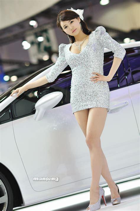 korean idols han ga eun seoul motor show part