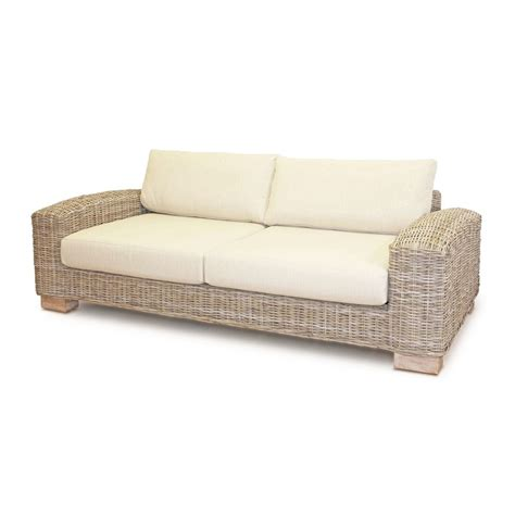 Three Sofa Set by Kasami Three Seater Sofa And Two Armchairs Conservatory