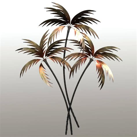 tree wall sculpture 20 choices of palm tree metal wall wall ideas 2929