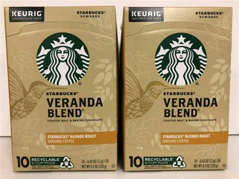 Great mornings start with a perfectly brewed cup of coffee. Starbucks K-Cups Veranda Blonde Roast Coffee Pods 20 ct best before 12 jul 2020 | eBay