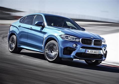 Bmw X5 M Hd Picture by 2015 Bmw X6 M In Blue Color Front Photo