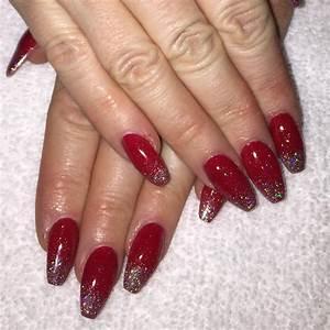 Pretty Red Nail Designs | Design Trends - Premium PSD ...